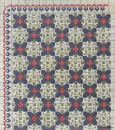 Gallery.ru / Фото #98 - Greek embroidery - GWD Hand Embroidery Patterns, Diy Embroidery, Cross Stitch Patterns, Embroidery Designs, Palestinian Embroidery, Chart Design, Cross Stitch Flowers, Filet Crochet, Knitting Designs