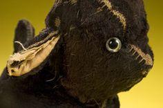 threadbare brown rabbit