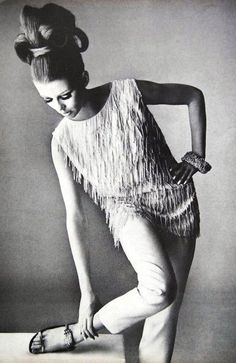 Photo by Irving Penn, 1964.