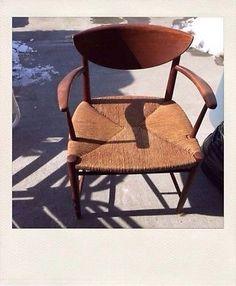 Peter Hvidt John Stuart Mid Century Modern  Teak Danish Arm Chair
