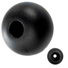 Ronstan Parrel Bead - 16mm(5/8) OD - Black - (Single)
