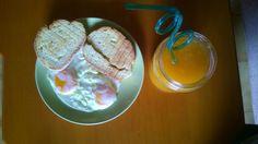 That's a good breakfast my dear!! Good morning