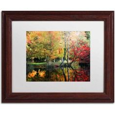 Trademark Fine Art I'll Be There Canvas Art by Philippe Sainte-Laudy, White Matte, Wood Frame, Size: 11 x 14