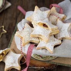 Biscotti cuor di mela stelle di natale