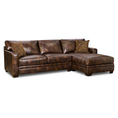 Nubuck Harvest Bonded Leather Sectional1200 at overstock...similar value city 800.00