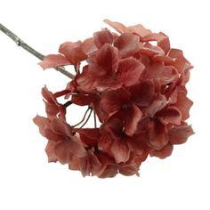 46cm Frosted Hydrangea Stem