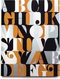 puesta tipográfica -al corte -forma y contraforma - color