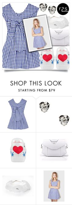 """""""Cute in Gingham"""" by runway2street ❤ liked on Polyvore featuring Otazu, Noritamy, cute, gingham and runway2street"""