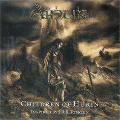 """Ainur: """"Children of Hurin"""" (Italy) 2008 studio album cover."""