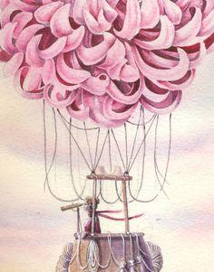 Chrysanthemum air balloon / Elena Limkina