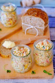 Quinoa Salat, Feta Salat, B Food, Food Porn, Pesto Pasta, Rigatoni, Cooking Recipes, Healthy Recipes, Macaroni Salad