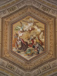 Vatican City: Vatican Museum: ceiling painting