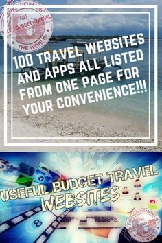 Useful travel websites & apps: all on 1 page! - Forever roaming the world