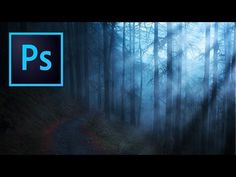 How to Create Light Rays in Photoshop - YouTube