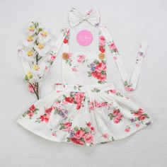 One-pieces Modest La Sienna Couture Cotton Bodysuit Size 0 Baby Girl Clothing, Shoes & Accessories