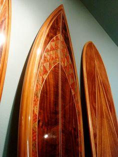 Beautiful Koa surfboards made in Hawaii. www.martinandmacarthur.com
