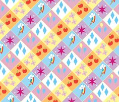 My Little Pony - Friendship is Magic! fabric by retropopsugar on Spoonflower - custom fabric