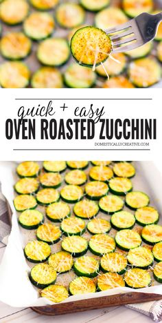The easiest way to cook zucchini is by roasting it in the oven for a quick and easy side dish your family will love. The easiest way to cook zucchini is by roasting it in the oven for a quick and easy side dish your family will love. Roasted Zucchini Recipes, Zucchini Dinner Recipes, Zucchini Side Dishes, Side Dishes Easy, Vegetable Dishes, Zucchini Oven, Recipes Dinner, Simple Zucchini Recipes, Baked Zucchini Parmesan