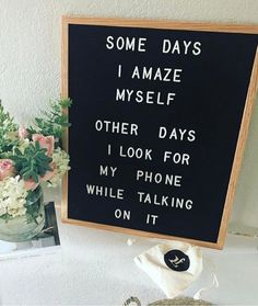 Totally in love with letter boards from The Letter Tribe. Most versatile home decor- letter board for inspirational quotes and motivational messages. Felt Letter Board, Felt Letters, Felt Boards, Word Board, Quote Board, Message Board, Great Quotes, Quotes To Live By, Inspirational Quotes