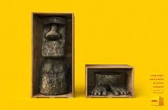 DHL: Moai Some things should never be shipped separately. DHL Plus®, for large volumes.