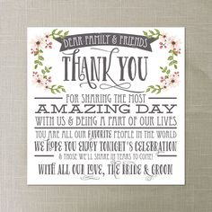 Hey, I found this really awesome Etsy listing at https://www.etsy.com/listing/179286061/instant-download-thank-you-place-card