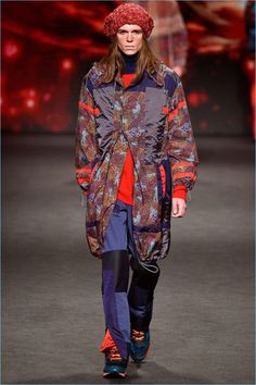 Etro Fall/Winter 2017 Men's Collection