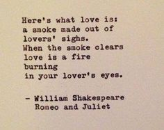Romeo and Juliet Quote by William Shakespeare Typewritten Greeting Card - Emily Buxton - Shakespeare Romeo Und Julia, William Shakespeare Frases, Shakespeare Love Quotes, Poetry Shakespeare, Literary Love Quotes, Poem Quotes, Words Quotes, Life Quotes, Quotes To Live By