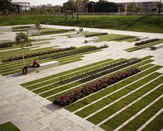 BGU大学广场与画廊 BGU University Entrance Square & Art Gallery - 谷德设计网
