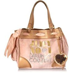 Juicy Couture Love Plumes Daydreamer Tote