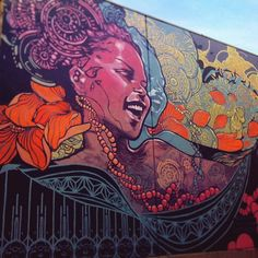 joshua mays art Mural at Refuge, Portland, OR..2015