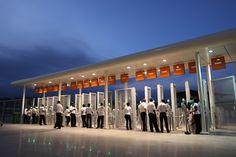 Turnstiles Stadium Architecture, Marina Bay Sands, Building, Travel, Voyage, Buildings, Viajes, Traveling, Trips