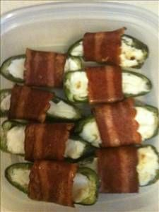 Cream Cheese and Bacon Jalepeno Poppers