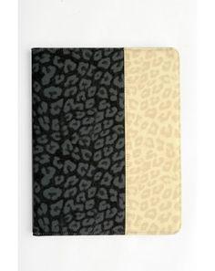 Textured animal print i-pad case  http://www.goguava.com