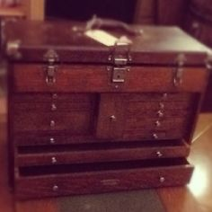 Beautiful antique storage chest at all aboard second hand furniture
