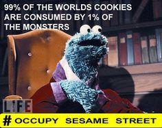 Occupy SESAME Street √