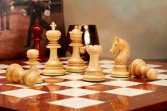 cool and opulent wood chess pieces. Bring home the contemporary Indian chetak series that sings out loud  glory of opulence Chess PiecesChess Staunton Super Club Set 4Q Bud Rose Wood Board http www