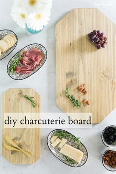 DIY Charcuterie Board via House by Hoff