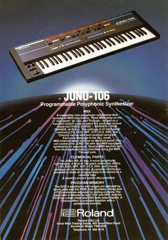 They forgot to mention the likelihood of the 80017A chips failing causing notes to hang on etc. / Besides that, the 106 is one of my favourite synthesisers.