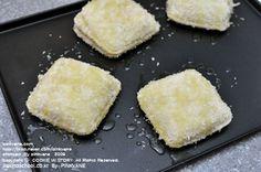 식빵으로 찍어서 오븐에 굽는 고로케