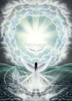 Step into the Light - Sacred Light Visions - The Art of Kim Dreyer