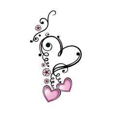 Would be a cute tattoo - Best Tattoos - body art Mom Tattoos, Wrist Tattoos, Body Art Tattoos, Small Tattoos, Tatoos, Tattoos Skull, Sleeve Tattoos, Heart Tattoo Designs, Flower Tattoo Designs