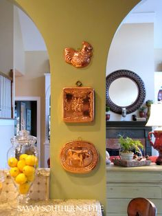 Savvy Southern Style: More French Country in the Kitchen