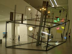 Mona Hatoum 2006 'Mobile Home ll', Berlin Museum, Berlin by hanneorla, via Flickr
