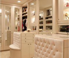 large closet.......love this!