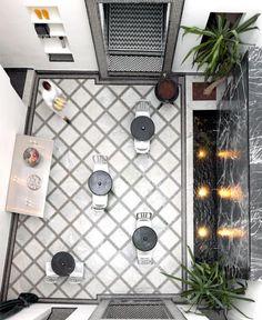Restaurant Numéro 7 By Bruno Ussel and Stephen di Renza In Fez, Morocco (Marruecos, Maroc) Moroccan Restaurant, Cafe Restaurant, Restaurant Design, Morocco Hotel, Fez Morocco, Visit Morocco, Casablanca, Exterior Design, Interior And Exterior