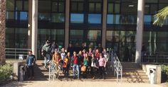"""Visita a Biblioteca Universidad de Almería. Alumn@s 2º GAP, curso 2014/15. Asignatura """"Información y Documentación Administrativa"""". Curso de formación (05/03/2015)"""