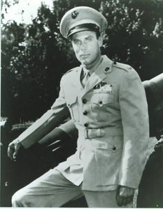 "Peter Ortiz (né Pierre Ortiz) (1913-88) COL USMC 42-45 WW II. A U.S. citizen, joined the French Foreign Legion (32-35/39-40) rising to Lt. Served in OSS. Jumped behind enemy lines to become French resistance leader. In Lyons he heard Germans insult the USMC & held gun to their heads til they joined in toast to Marines, & then managed to escape. Earned Navy Cross 2, Purple Heart 2, Legion of Merit, OBE, Croix de Guerre 5. Not well remembered but in ""Rio Grande"" ('50) and ""Wings of Eagles""…"