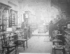 Elkington Ltd, Showroom entrance, Manchester, February 1912. IET Archives NAEST 074/04/0055