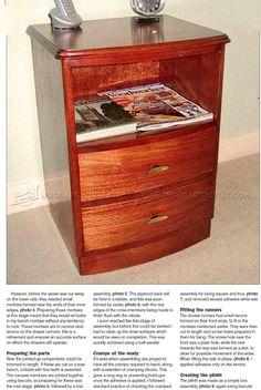 #2012 Bedside Cabinet Plans - Furniture Plans