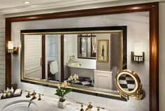 Hotel Plaza Athenee New York - A selection of guest rooms and suites feature enlarged marble bathrooms with deep soaking tubs, and dual sinks.